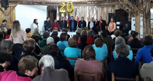 CTG RECEBEU 20° ENCONTRÃO DE CLUBE DE MÃES DE HARMONIA.