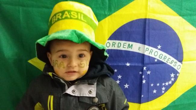 EMEI Anjo da Guarda em clima de Copa do Mundo