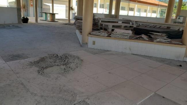 Escolas recebem melhorias durante quarentena