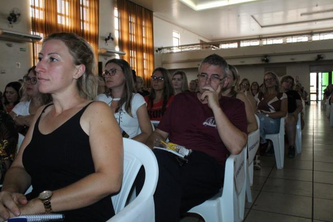 Professores harmonienses participaram do Fórum Regional de Educação