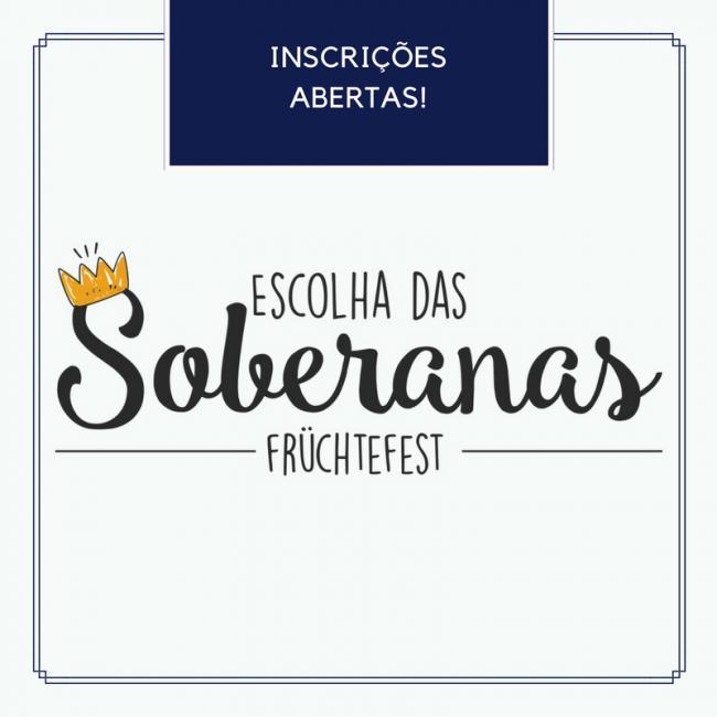 Inscrições para rainha e princesas da 9ª Früchtefest estão abertas