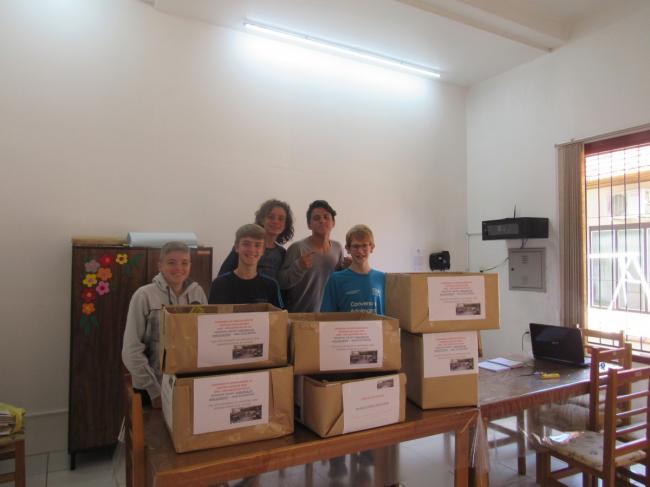 CRAS Auxiliadora de Harmonia continua com vários projetos solidários