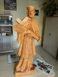 Comunidade da Paróquia de Harmonia recebe estátua da República Tcheca