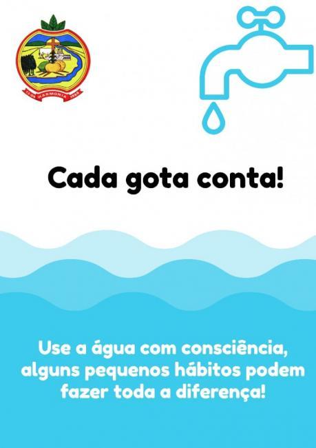 Prefeitura solicita que população não desperdice água