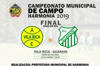 Municipal de Futebol de Campo tem jogo de ida da final no sábado