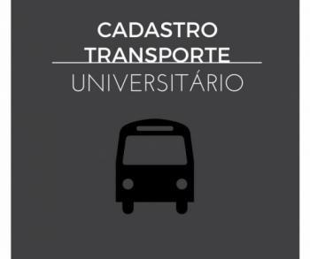 Abertas as inscrições para o transporte universitário e técnico
