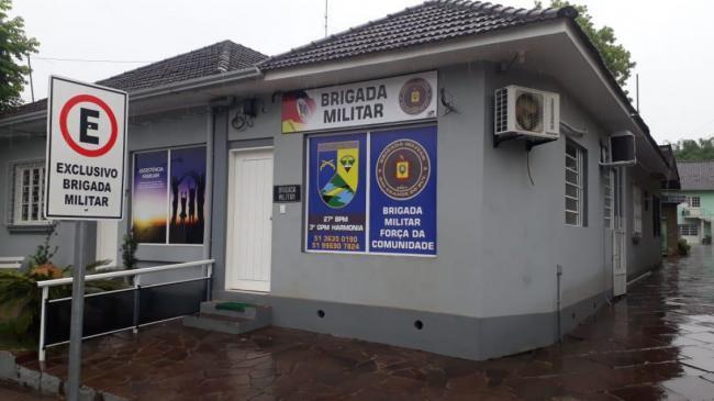 Prefeitura melhora identificação visual do posto da Brigada