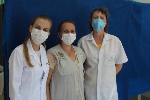 Município oferece vacinação contra gripe em residência para idosos
