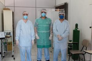 Município monta sala especial no Centro de Saúde por conta do Covid-19