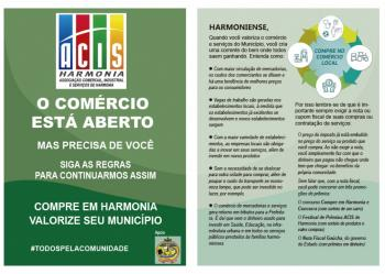 Acis e Prefeitura realizam campanha de valorização do comércio