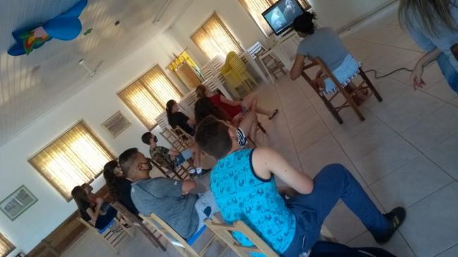 Grupo de adolescentes do Cras volta às atividades presenciais