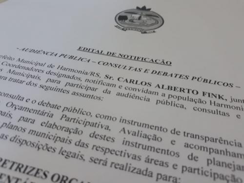 Comunidade discute no dia 2 orçamento para 2021