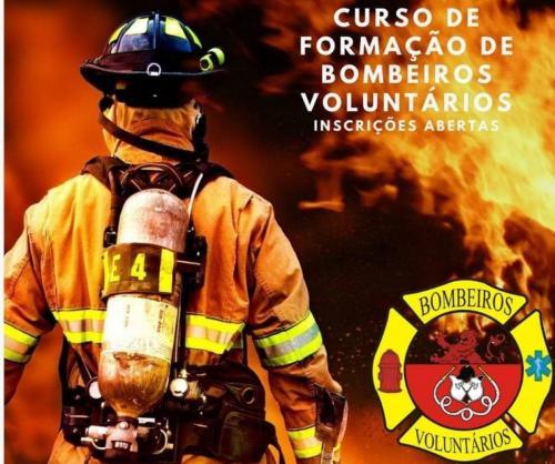 Curso de formação de Bombeiros Voluntários com inscrições abertas