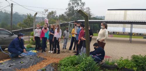 Projeto de educação ambiental é desenvolvido na Escola Espaço do Saber