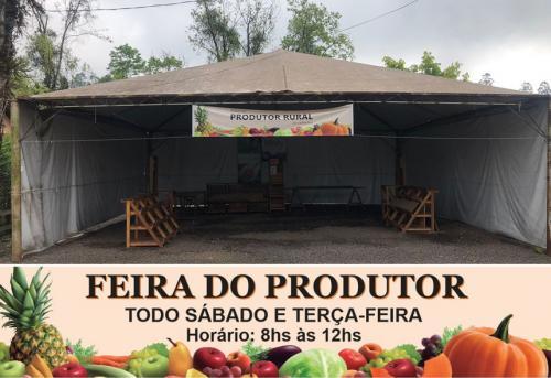 Feira do Produtor Rural abrirá também nas terças