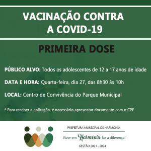 Vacinação contra a Covid-19: confira o calendário desta semana