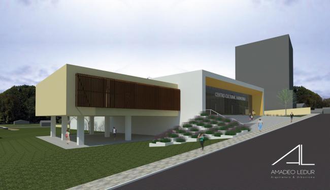 Centro Cultural tem custo estimado de R$ 7 milhões; Deputado Lucas Redecker (PSDB/RS) destinou R$ 300 mil para o início das obras.