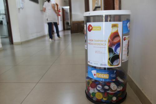 Centro de Saúde de Harmonia adere à campanha Tampinha Legal