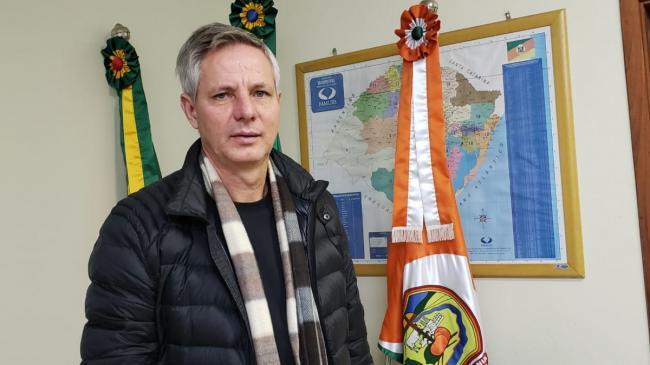 Lico recebeu a comunicação como presidente da Amvarc