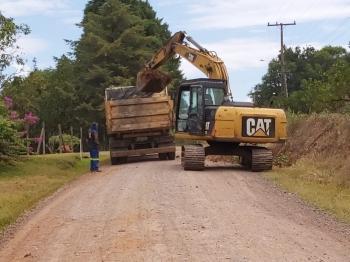 Começam as obras para o asfaltamento da Estrada de São Benedito