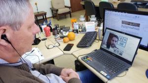 Lico participa de videoconferência com governador sobre reforma tributária